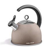 Morphy Richards Accents 2.5 Litre Whistling Kettle - Barley
