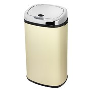 Morphy Richards 42 Litre Square Sensor Bin - Cream