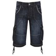 Crosshatch Men's Kanaster Denim Shorts - Tint Wash