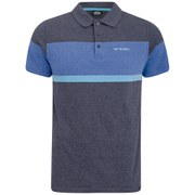 Animal Men's Ramin Polo Shirt - Indigo Blue Marl