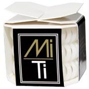 MiTi Professional Hair Tie - Absolute White (3pc)