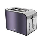 Swan 2 Slice Toaster - Plum