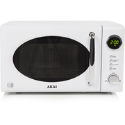 Akai A24006W Digital Microwave - White - 700W