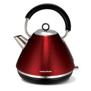 Morphy Richards 102004 Accents Traditional Kettle - Red