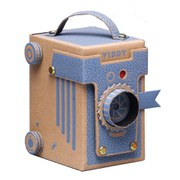 Viddy Pop Up Pinhole Camera Kit - Blue