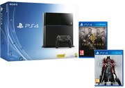 Sony PlayStation 4 500GB Console - Includes Bloodborne + The Order 1886
