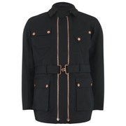 Private White VC Men's Twin-Track Cotton Canvas Jacket - Black
