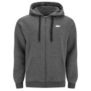 Myprotein Men's Zip Up Hoody - Charcoal (USA)