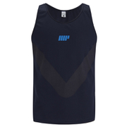 Myprotein Men's Racer Back Running Tank - Navy