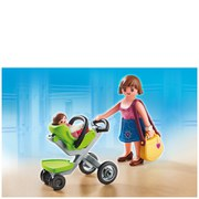 Playmobil Shopping Centre Mother with Infant Stroller (5491)