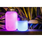 Glow Mason Jar