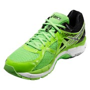 Asics Men's GT-2000 3 Running Shoes - Flash Green/Black/White