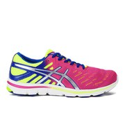 Asics Women's Gel Electro 33 Running Shoes - Hot Pink/Silver/Flash Yellow