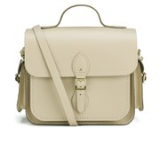 The Cambridge Satchel Company Large Traveller Bag with Side Pockets - Cream Crocus