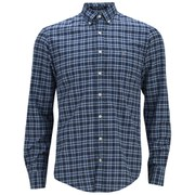 GANT Men's Chambray Check Shirt - Blue