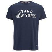 GANT Men's Stars New York T-Shirt - Blue