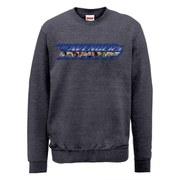 Marvel Avengers Age of Ultron Classic Blue Logo Sweatshirt - Dark Grey
