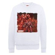 Marvel Avengers Age of Ultron Hulkbuster Sweatshirt - White