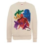 Marvel Avengers Age of Ultron Team Colours Sweatshirt - Beige