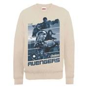 Marvel Avengers Age of Ultron Team Stripes Sweatshirt - Beige