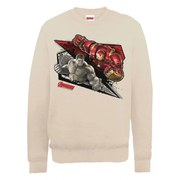 Marvel Avengers Age of Ultron Hulk vs. Hulkbuster Shards Sweatshirt - Beige
