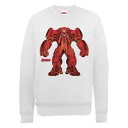Marvel Avengers Age of Ultron Hulkbuster X-Ray Sweatshirt - Ash Grey