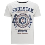 Soul Star Men's Tippolio T-Shirt -  Ecru