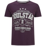 Camiseta Garland Soul Star - Burgundy