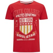 Soul Star Men's Falgone T-Shirt - Red