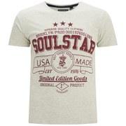Soul Star Men's Garland T-Shirt - Oatmeal