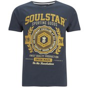 Soul Star Men's Tippolio T-Shirt - Navy