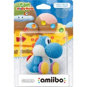 Light Blue Yarn Yoshi amiibo