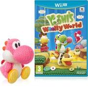 Yoshi's Woolly World+ Pink Yarn Yoshi amiibo Pack