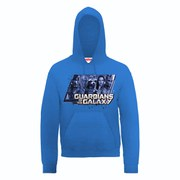 Marvel Guardians of the Galaxy Team Hooded Sweatshirt - Royal Blue