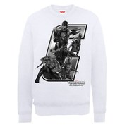 Marvel Guardians of the Galaxy Collegiate Logo Sweatshirt - White