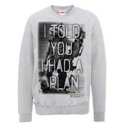 Marvel Guardians of the Galaxy I Told You I Had A Plan Sweatshirt - Heather Grey