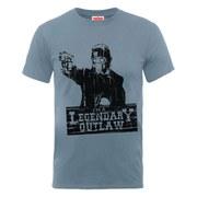 Marvel Guardians of the Galaxy Men's Legendary Outlaw T-Shirt - Steel