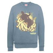 Marvel Guardians of the Galaxy Star-Lord Silhouette Sweatshirt - Indigo Blue
