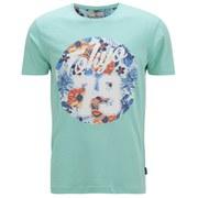 Tokyo Tigers Men's Monchy Printed T-Shirt - Aqua Sky