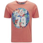 Tokyo Tigers Men's Monchy Printed T-Shirt - Pale Coral