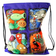 Plants vs. Zombies Picture Panels Drawstring Gymbag