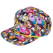Adventure Time All-Over Print Snap Back Baseball Cap
