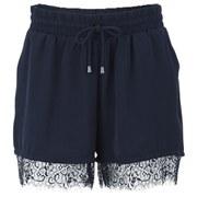 ONLY Women's Miminda Shorts - Navy Blazer