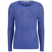 ONLY Women's Assisi Light Knitted Jumper - Amparo Blue