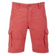 Threadbare Men's Fargo Cargo Shorts - Bright Coral