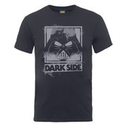 Star Wars Men's Darth Vader Dark Side T-Shirt - Charcoal