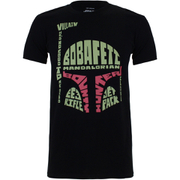 Star Wars Men's Boba Fett Head T-Shirt - Black