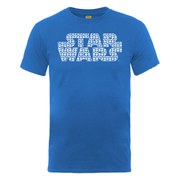 Star Wars Men's Logo R2-D2 Montage T-Shirt - Royal