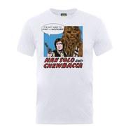 Star Wars Men's Han Solo Popart T-Shirt - White