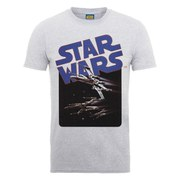 Star Wars Men's X-Wing Fighters T-Shirt - Heather Grey